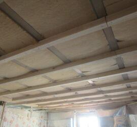 Isolation de murs et plafond par l'intérieur